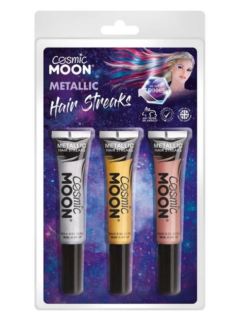 Cos Moon Metallic Hair Streaks.