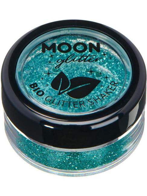 Moon Glitter Bio Glitter Shakers, Turquoise.