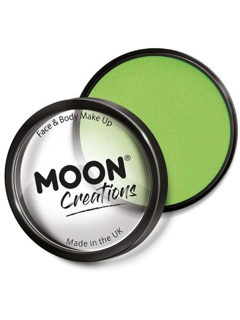 Moon Creations Pro Face Paint Cake Pot, Pastel Gre.