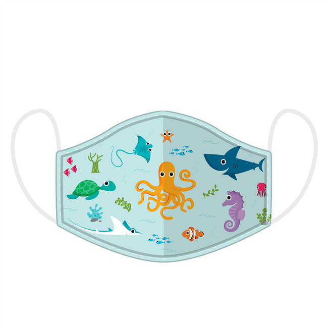 Sealife Splosh Reusable Face Covering - Small