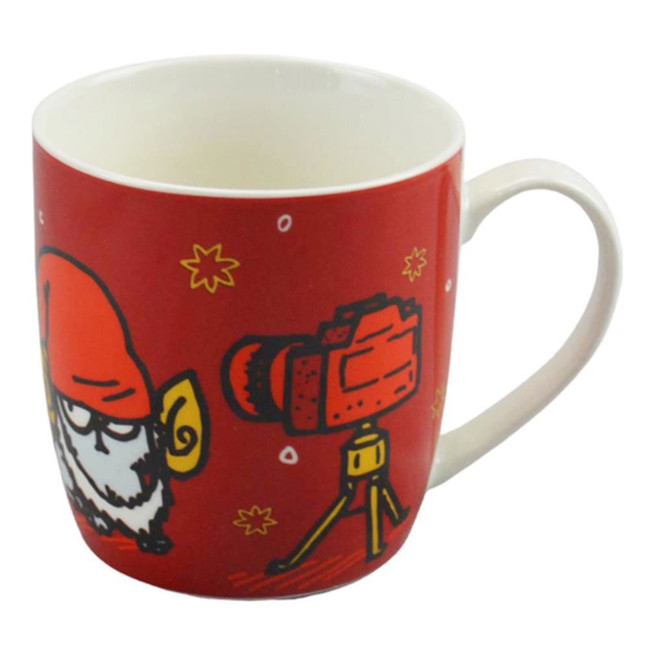 Simon's Cat Christmas Porcelain Mug