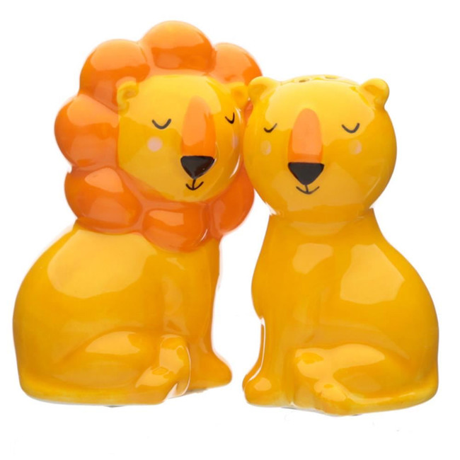 Zooniverse Lion Ceramic Salt and Pepper Set