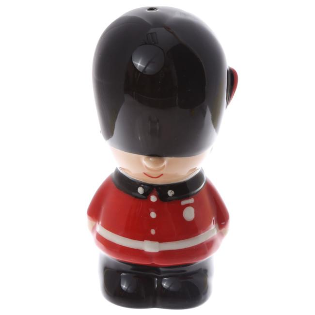 Ceramic Guardsman Salt and Pepper Set