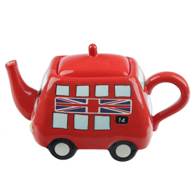 Routemaster Bus Teapot 13cm