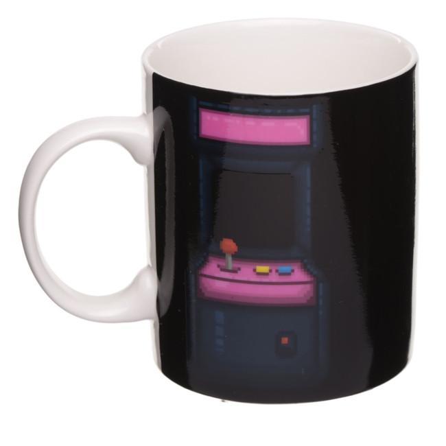 Game Over Heat Changing Colour Change Porcelain Mug