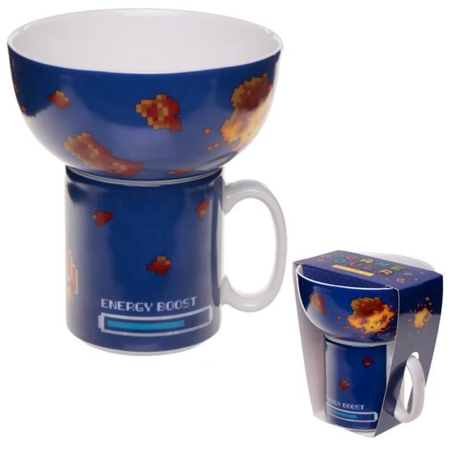 Children's Game Over Porcelain Mug and Bowl Set