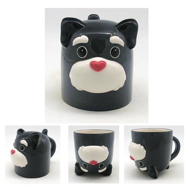 Dog Squad Upside Down Ceramic Mug