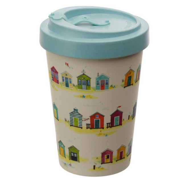Portside Seaside Screw Top Bamboo Composite Travel Mug