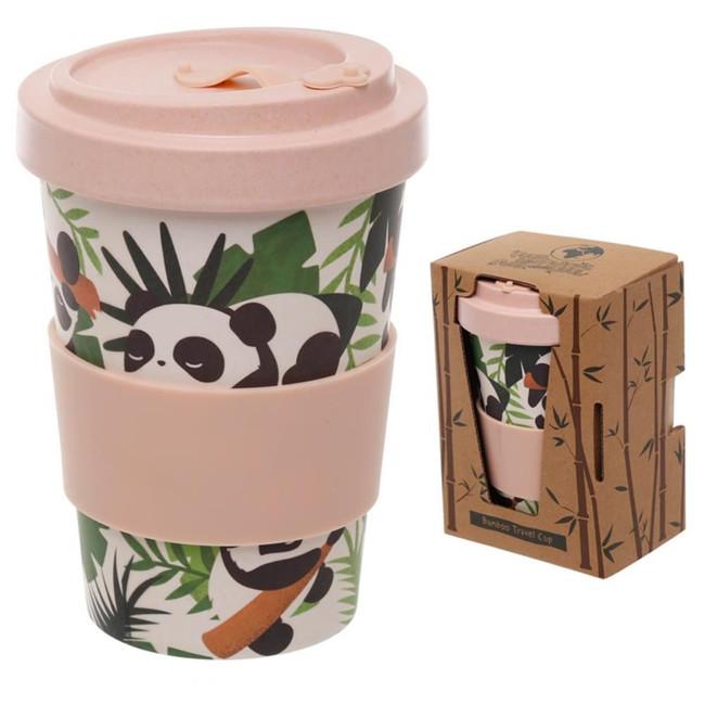 Pandarama Reusable Screw Top Bamboo Composite Travel Mug