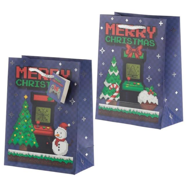 Christmas Game Over Gift Bag - Medium