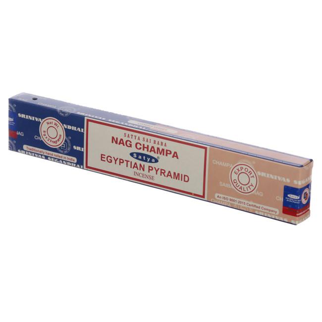 01314 Satya Nag Champa & Eqyptian Pyramid Incense Sticks