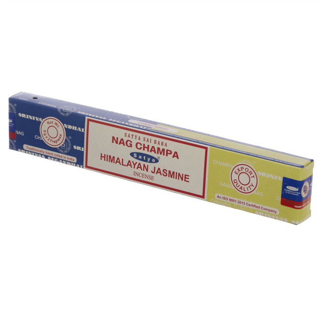 01321 Satya Nag Champa & Himalayan Jasmine Incense Sticks
