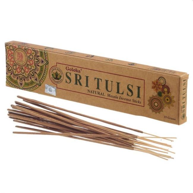 Goloka Organika Sri Tulsa Incense Sticks