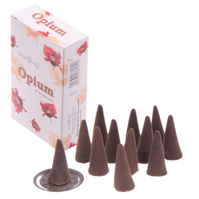 37169 Stamford Incense Cones - Opium