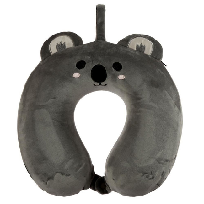 Relaxeazzz Cutiemals Koala Plush Memory Foam Travel Pillow