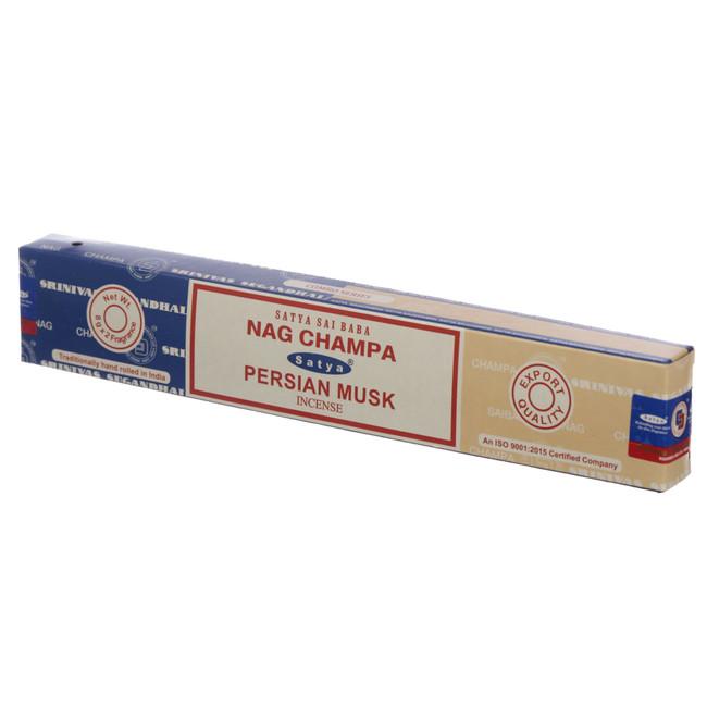 01328 Satya Nag Champa & Persian Musk Incense Sticks