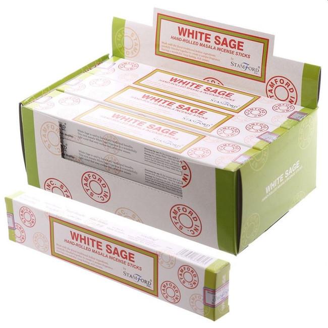 37261 Stamford Masala Incense Sticks - White Sage