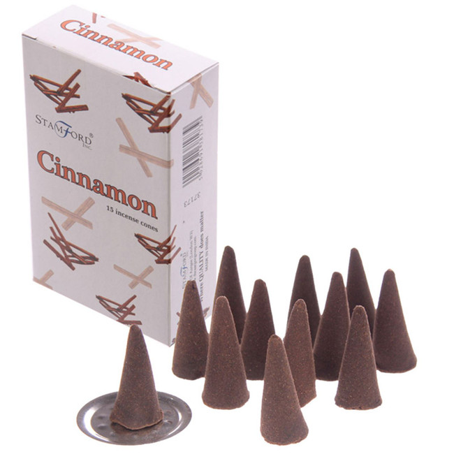37173 Stamford Incense Cones - Cinnamon