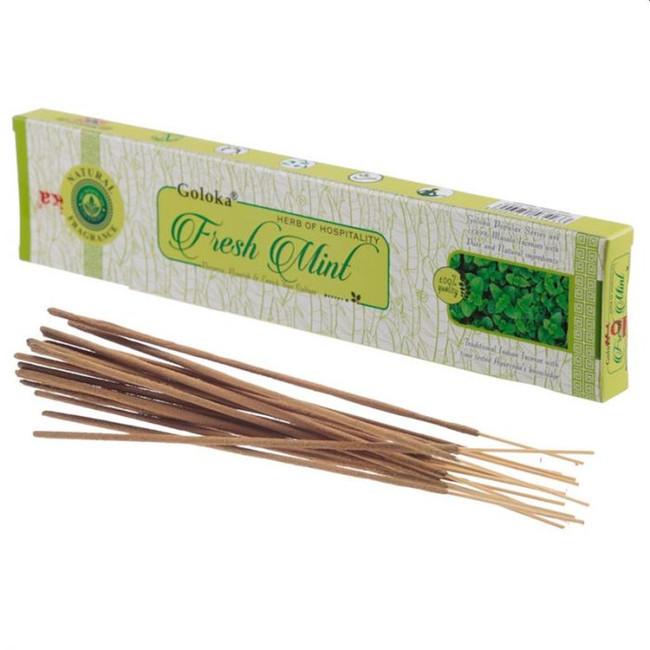 Goloka Fresh Mint Incense Sticks