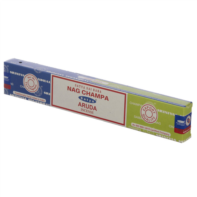 01304 Satya Nag Champa & Aruda Incense Sticks