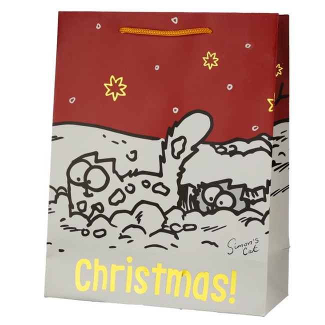 Christmas 2020 Simon's Cat Gift Bag -  Large
