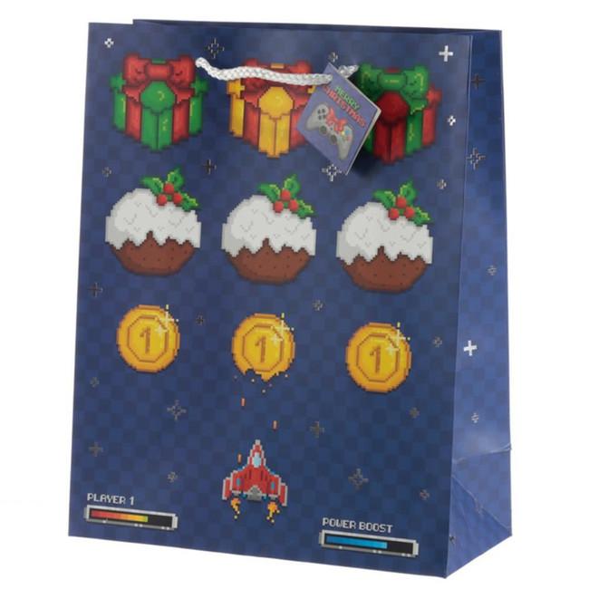 Christmas Game Over Gift Bag - Large