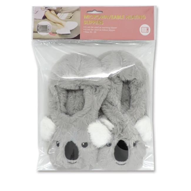Koala Heat Pack Toesties Warmer Slippers (One Size)