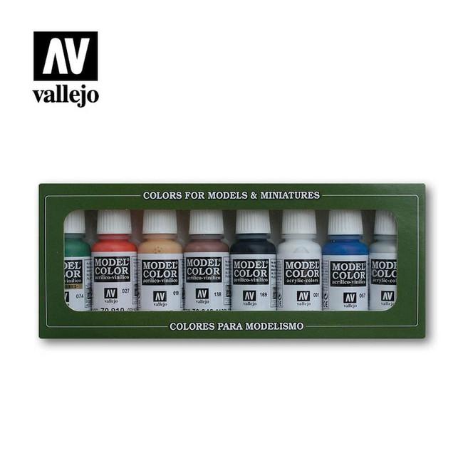 AV Vallejo Model Color Set - Wargames Basics (x8)