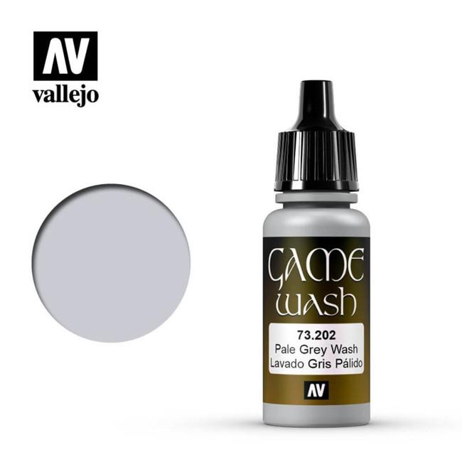 AV Vallejo Washes - Pale Grey 17ml