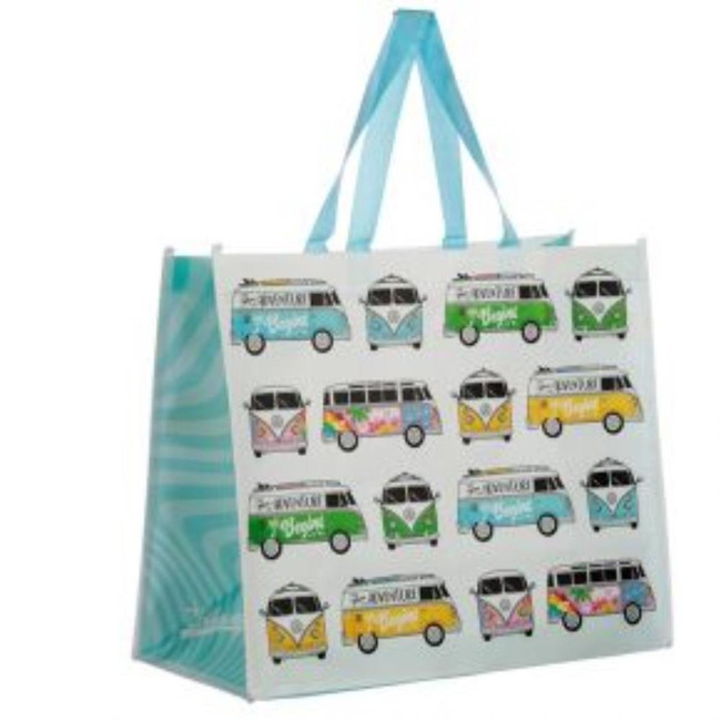 Volkswagen VW T1 Camper Bus Summer Love Surf Shopping Bag