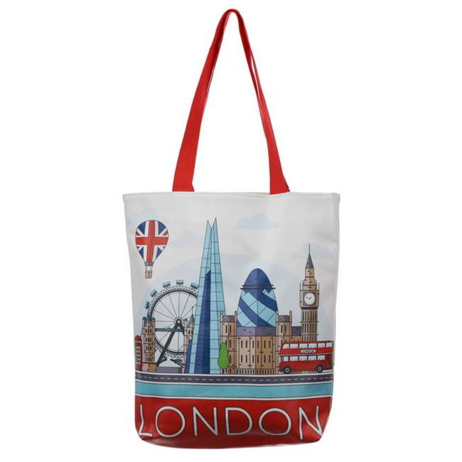 London Icons Tote Shopping Bag