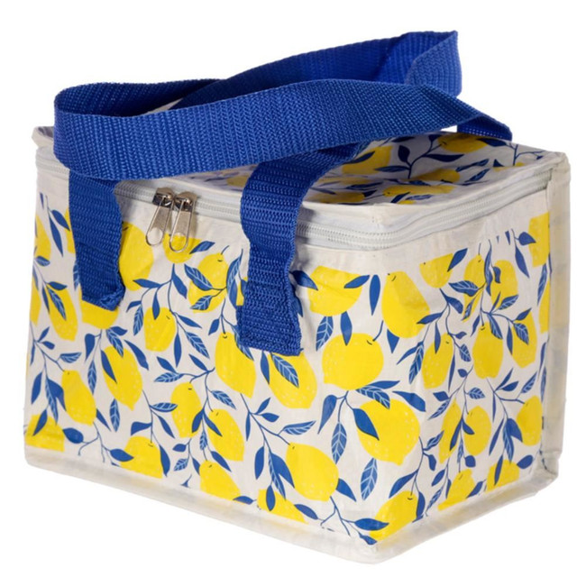 Woven Cool Bag Lunch Box - Amalfi Lemon
