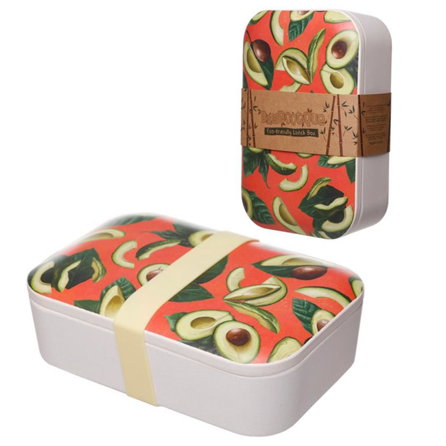 Bamboo Composite Avocado Reusable Lunch Box