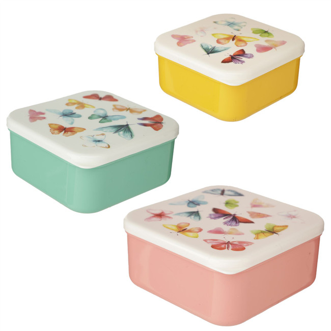 Set of 3 Lunch Boxes M/L/XL - Butterfly House