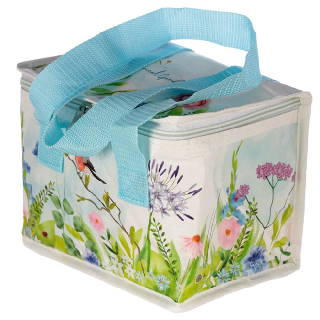 Woven Cool Bag Lunch Box - Botanical Garden