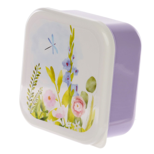 Set of 3 Lunch Boxes M/L/XL - Botanical Gardens