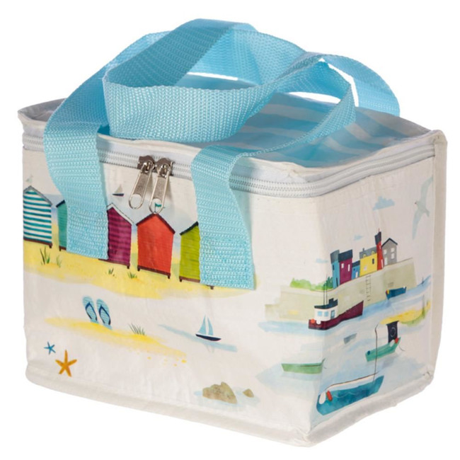 Woven Cool Bag Lunch Box - Portside Seaside and Beach Design