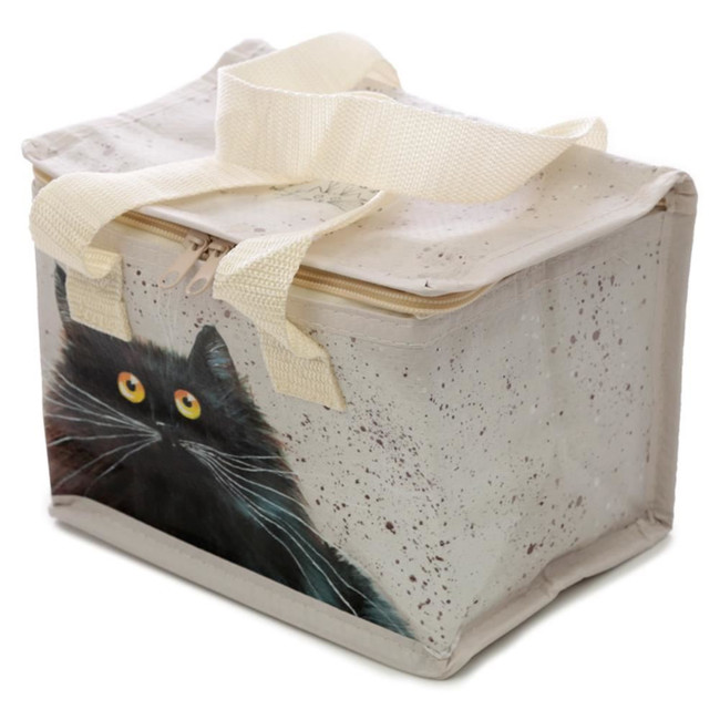 Woven Cool Bag Lunch Box - Kim Haskins Cat