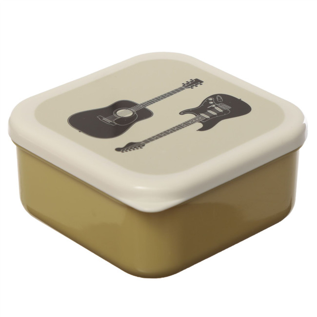 Set of 3 Lunch Boxes M/L/XL - Headstock Guitar