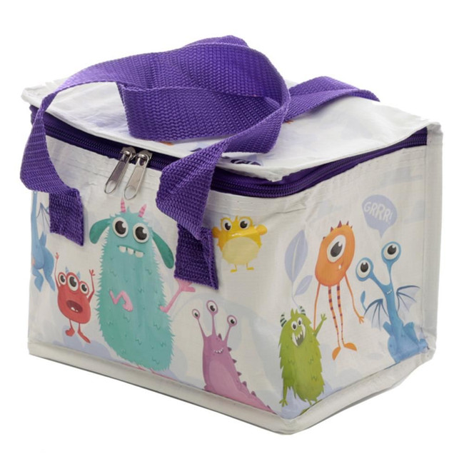 Woven Cool Bag Lunch Box - Monstarz Monster Design