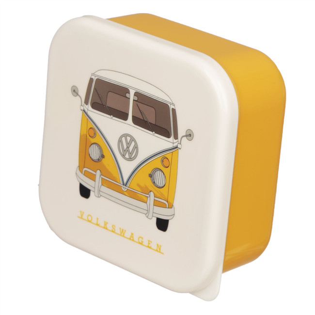 Set of 3 Lunch Boxes - Volkswagen VW T1 Camper Bus M/L/XL