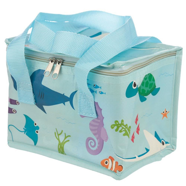 Woven Cool Bag Lunch Box - Splosh Sealife