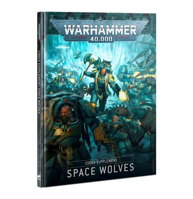 Codex: Space Wolves (Hardback) (English)