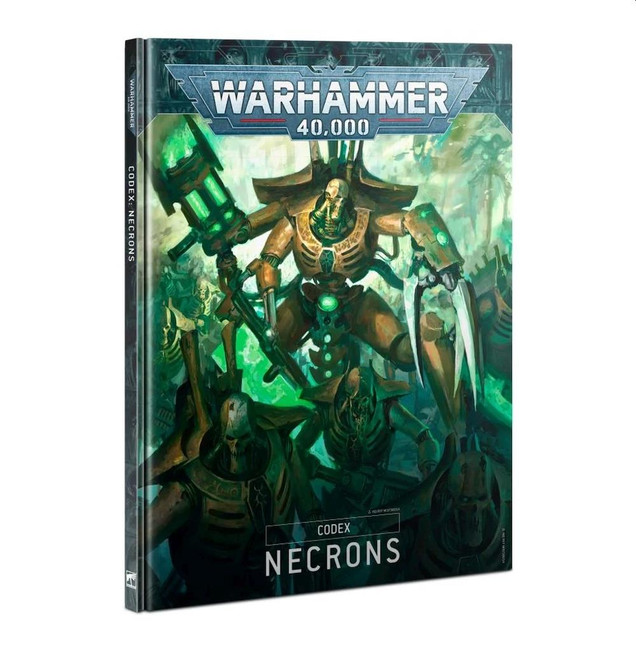 Codex:  Necrons, Warhammer 40,000,