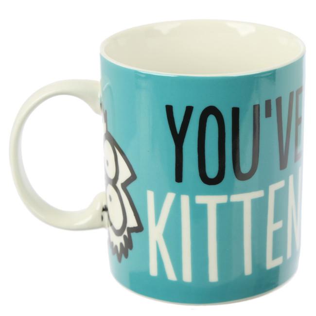 Kitten Slogan Simon's Cat Porcelain Mug