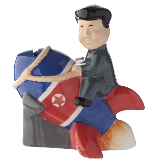Rocket Man Ceramic Money Box