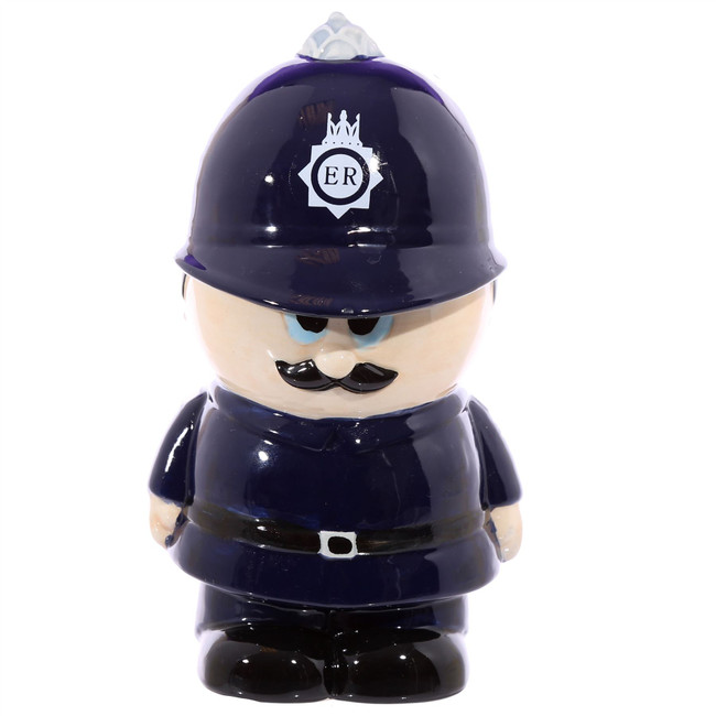 Policeman Ceramic Money Box