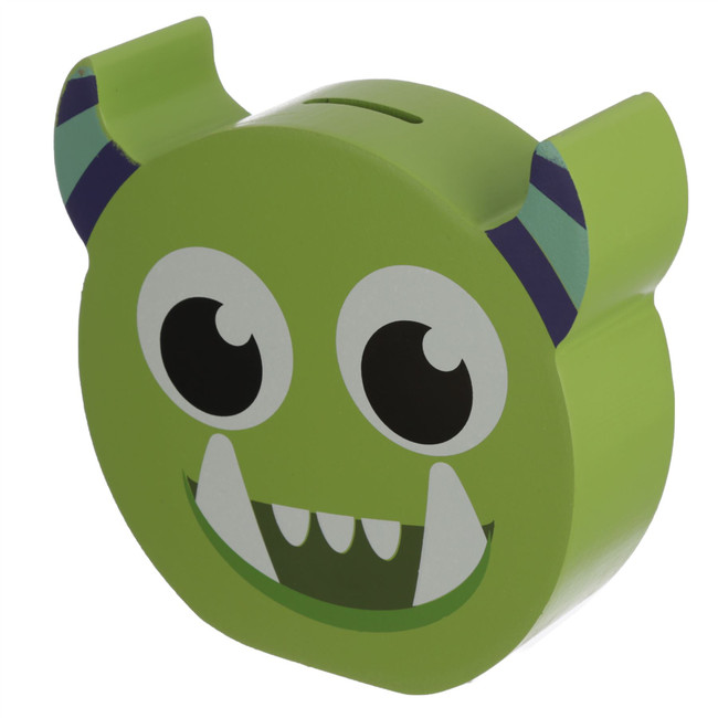 Green Monster Monstarz Shaped Money Box