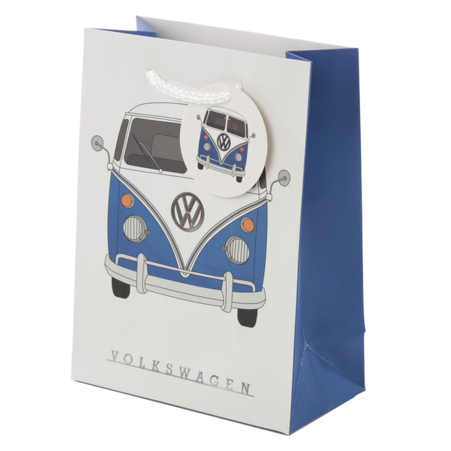 Volkswagen VW T1 Camper Bus Multi Design Gift Bag - Medium