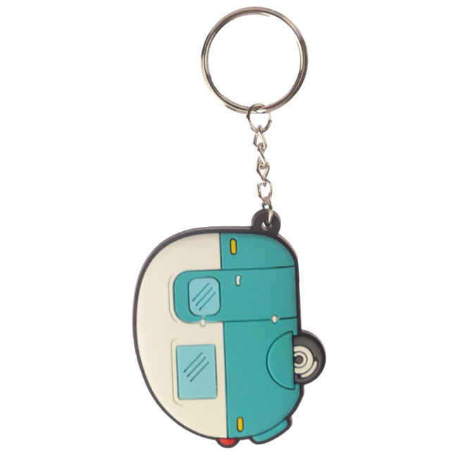 Home is Where You Park It Caravan PVC Keyring
